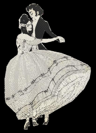 Ein klassisches Tanzpaar