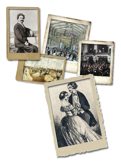 Geschichtliche Impresssionen der Sofiensäle Wien