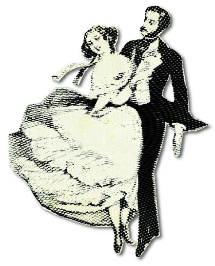 klassisches Tanzpaar